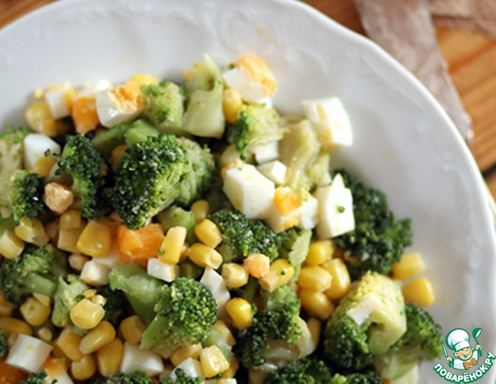 Рецепт: Салат из брокколи