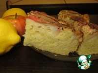 Яблочный пирог От бабушки Эммы ингредиенты