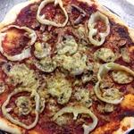 Пицца в микроволновке Грибная