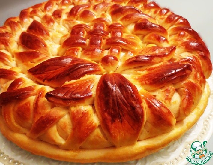 Рецепт: Пирог с инжиром