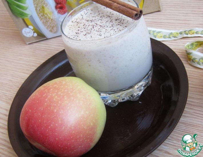 Рецепт: Смузи Яблочный штрудель