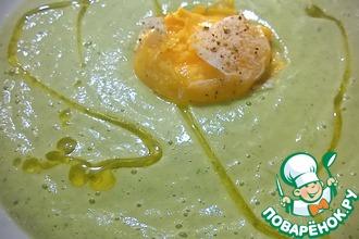 Рецепт: Крем-суп из цуккини