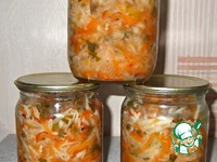 Салат из редьки на зиму ингредиенты