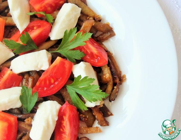 Рецепт: Салат с баклажанами