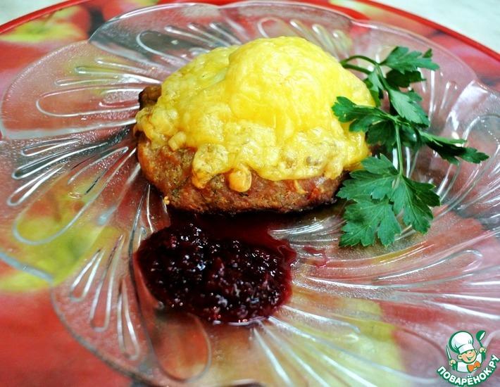 Рецепт: Блюдо-закуска Ласточкино гнездо