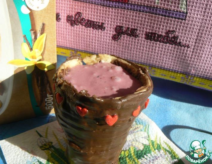 Рецепт: Смузи Cмородиновый пай