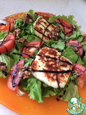 Рецепт Быстрый испанский салат