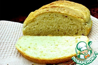 Рецепт: Хлеб на гречневых хлопьях