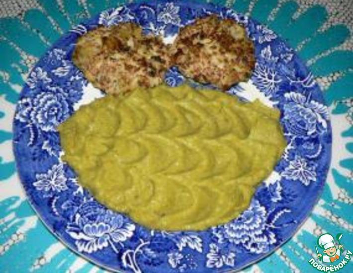 Рецепт: Пюре из савойской капусты