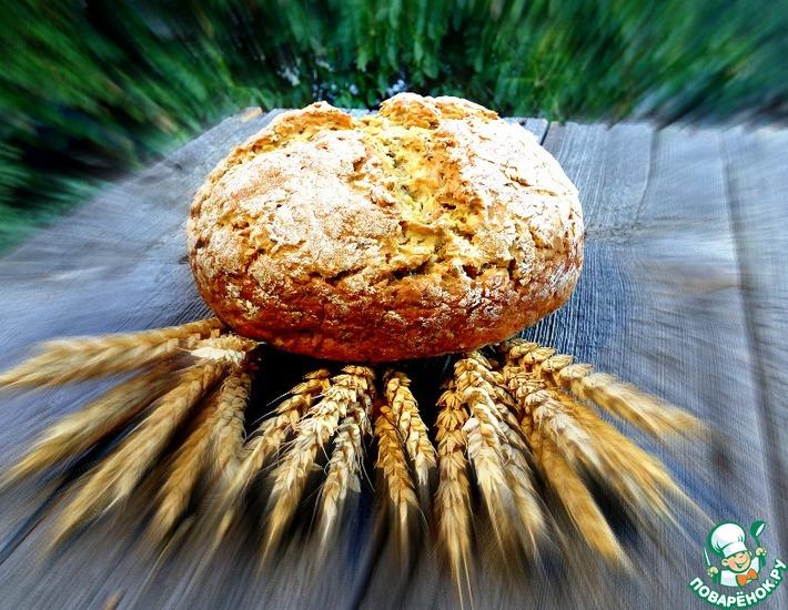 Рецепт: Хлеб за 5 минут