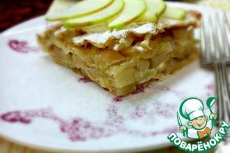Рецепт: Пирог Яблочные 7 злаков