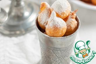 Рецепт: Французские заварные пончики Пе-де-нонн