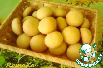 Рецепт: Индийское печенье «Нан хати» с кокосом