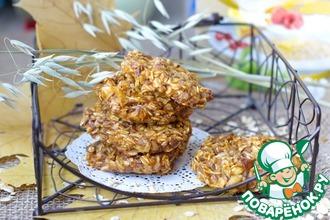 Рецепт: Тыквенно-овсяное печенье