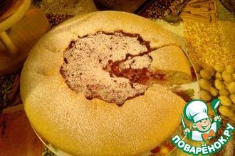 Рецепт: Пирог с брусникой