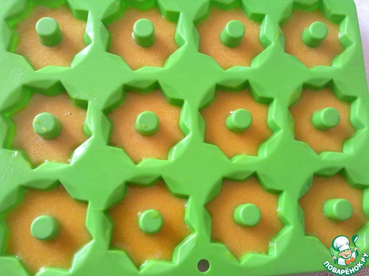 Печенье c куркумой в микроволновке