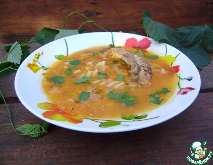 Рецепт: Томатный суп с плавленым сыром