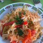 Капустный салат Пряный