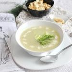 Крем-суп из огурцов