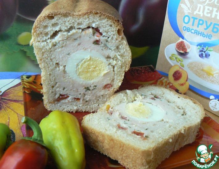 Рецепт: А-ля террин в хлебе
