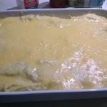 Картофельное пюре с сыром и беконом