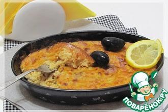Рецепт: Воздушный рыбный пирог по-милански