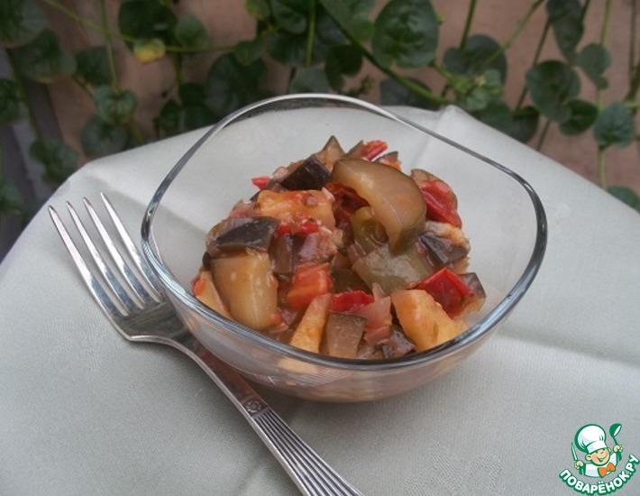 Рецепт: Салат закусочный сентябрьский