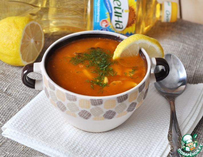 Рецепт: Овощная солянка с грибами