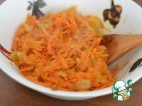 Треска, фаршированная морковью ингредиенты