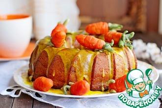 Рецепт: Морковный постный кекс