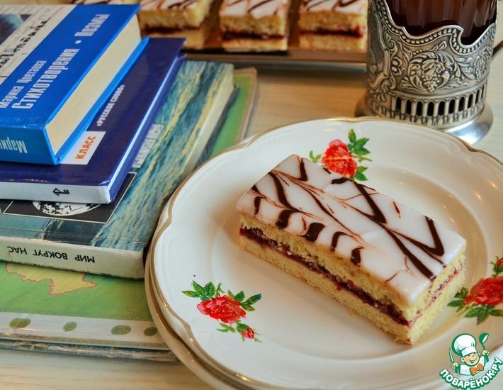 Рецепт: Пирожное Школьное