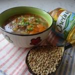 Сытный суп из чечевицы Бюджетный