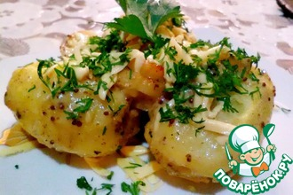 Рецепт: Картофель Шкатулка с бриллиантом