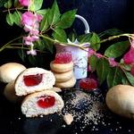 Печенье бездрожжевое с мармеладом