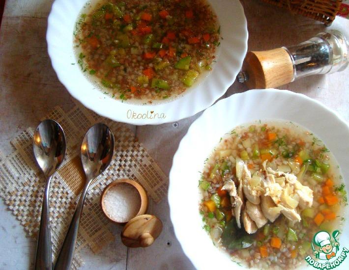 Рецепт: Гречневый суп