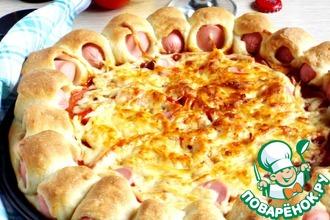 Рецепт: Хот-дог пицца