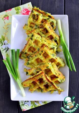 Рецепт: Картофельные драники в вафельнице