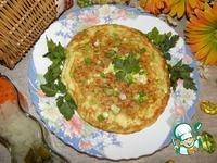 Омлет с кабачком Мгновенный завтрак ингредиенты