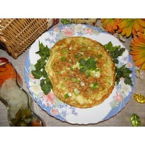 Омлет с кабачком Мгновенный завтрак