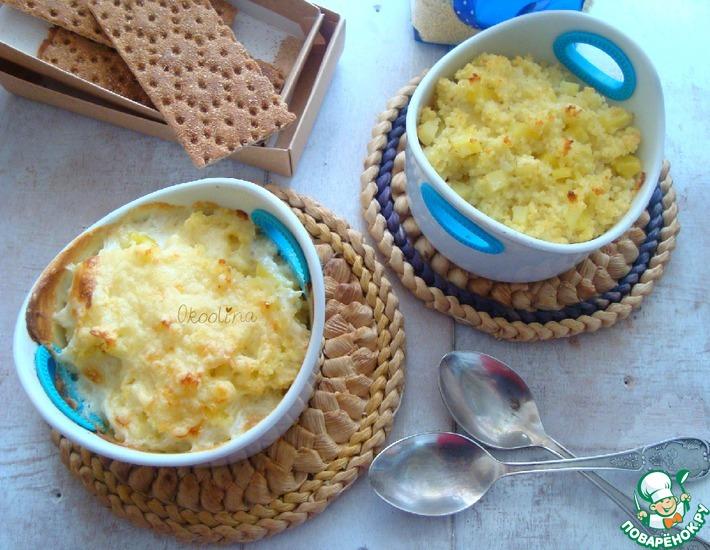 Рецепт: Картофельник с пшеном