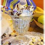 Фруктовый десерт под горячим шоколадом