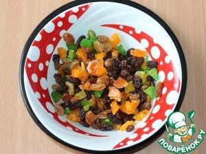 10. К изюму можно добавить мелко порезанные вяленые фрукты.