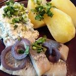Традиционный латышский обед рыбака