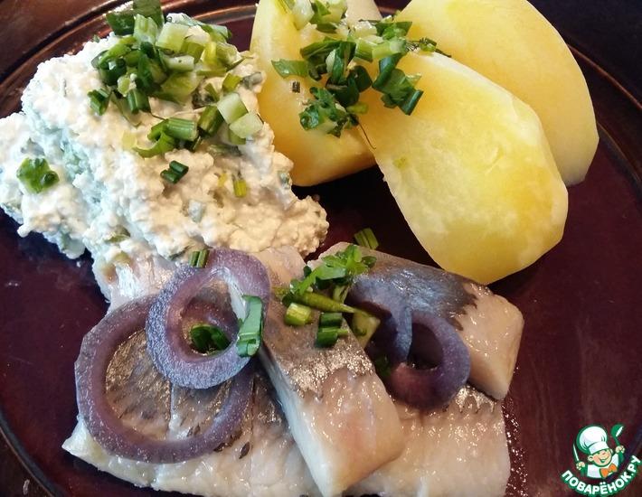 Рецепт: Традиционный латышский обед рыбака