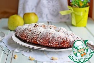 Рецепт: Кекс на яблочном пюре
