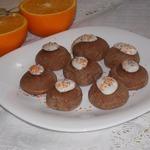 Постное шоколадно-апельсиновое печенье