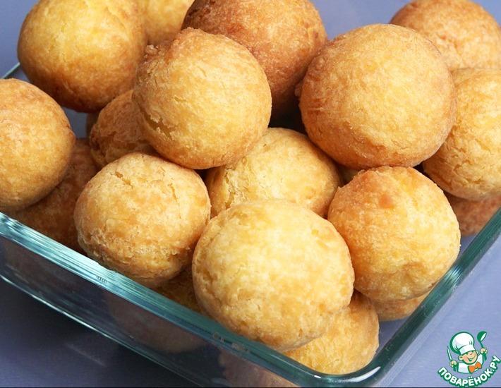 Рецепт: Творожные шарики из сладких сырков