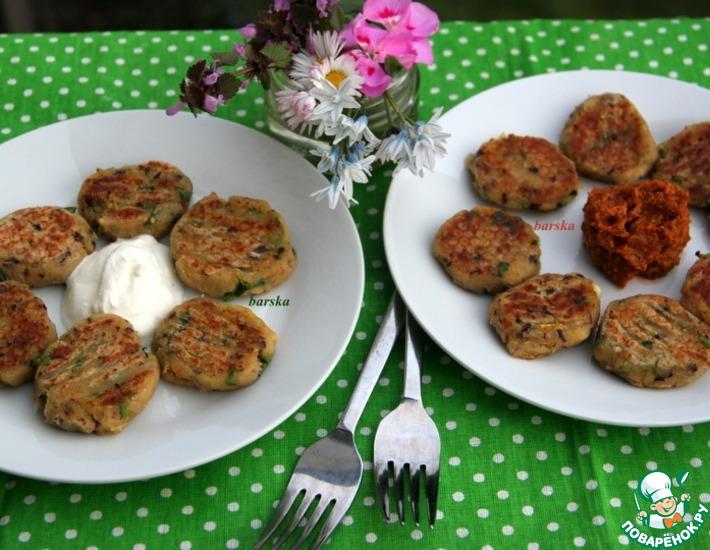 Рецепт: Картофельно-фасолевые талеры