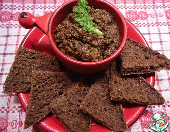 Рецепт: Паста из оливок и маслин