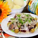 Салат из сельди и свеклы